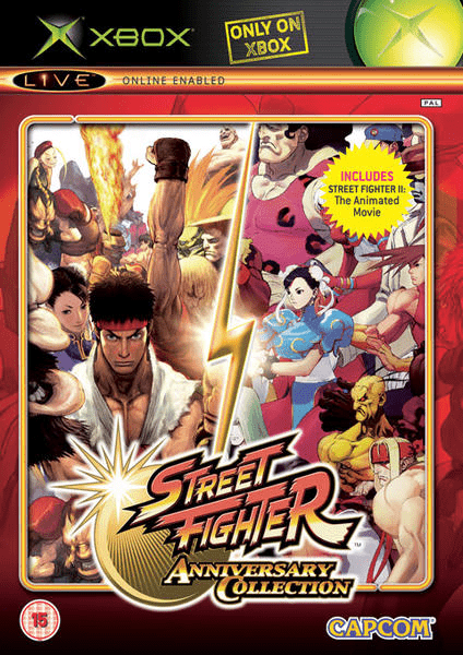 Street fighter – anniversary collection