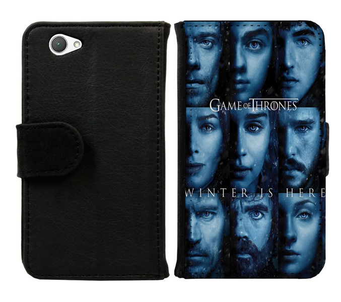 Sony xperia z1 compact plånboksfodral game of thrones