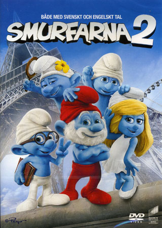 Smurfarna 2 – dvd