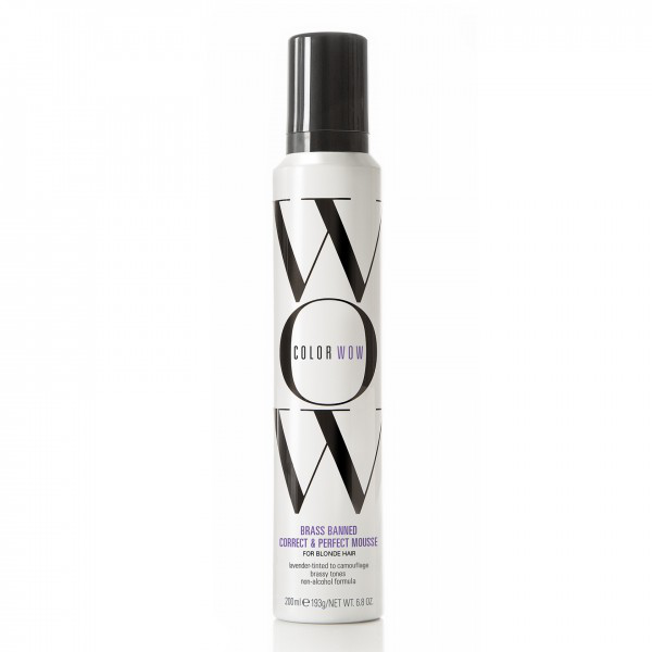Color wow brass banned correct & perfect mousse -blonde 200ml