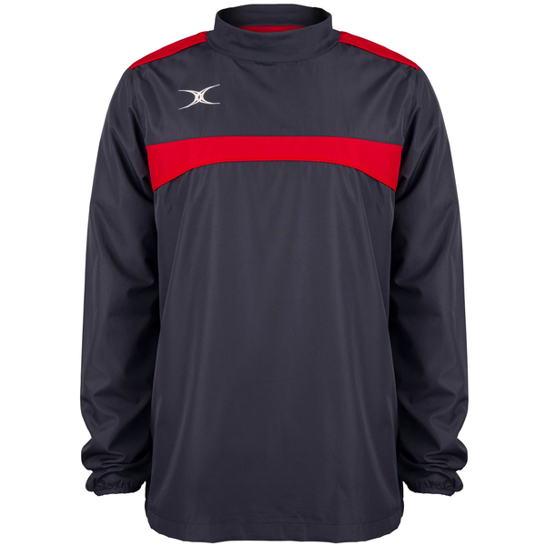 Gilbert mens photon warm-up top dark navy/red utrw6633