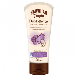 Hawaiian tropic duo defence sun lotion – spf 50