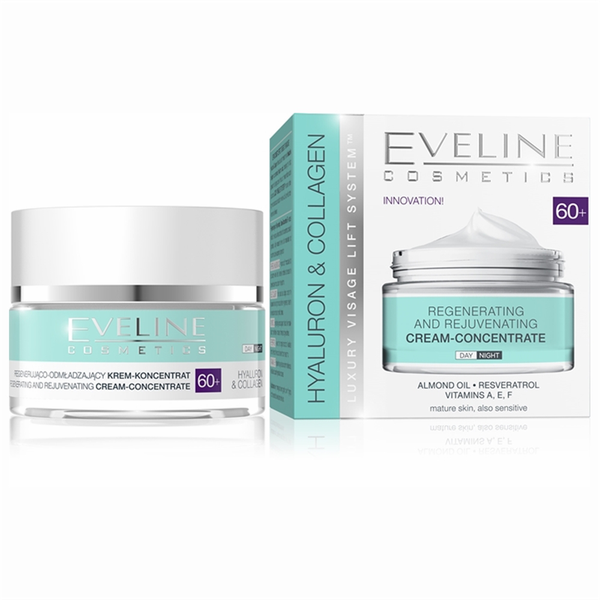 Hyaluron and collagen day and night cream 60+