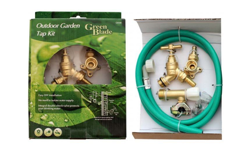 Outdoor Garden Tap Kit Outside Outside Outside Water Hose Connector 87c70a