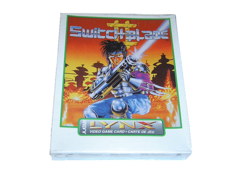 Switchblade 2 atari lynx