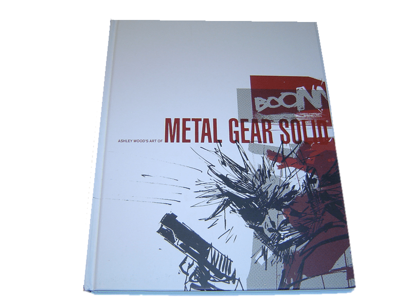 Metal gear solid art book