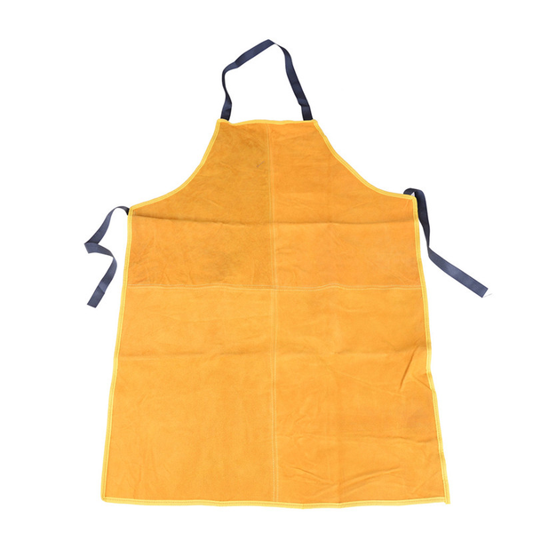 Safurance welders leather welding cutting bib shop apron heat re