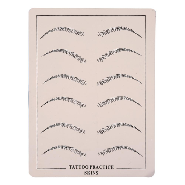 1pc tattoo practice permanent makeup cosmetic microblading e
