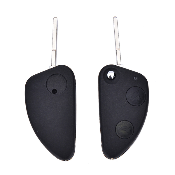 1x 2 button flip entry remote key fob case shell blade for alfa
