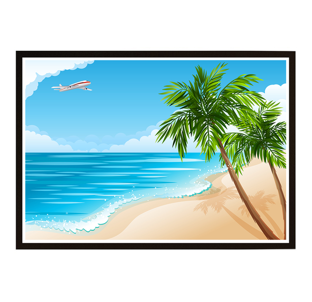 Poster Poster Poster - Miami Beach 21x30cm 400228