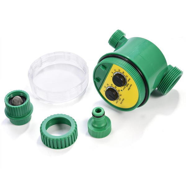 multi-function two dial automatic electronic watering tim