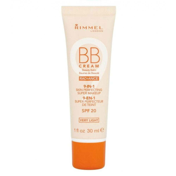 Rimmel wake me up radiance bb cream 9-in-1 spf20 30ml- very ligh