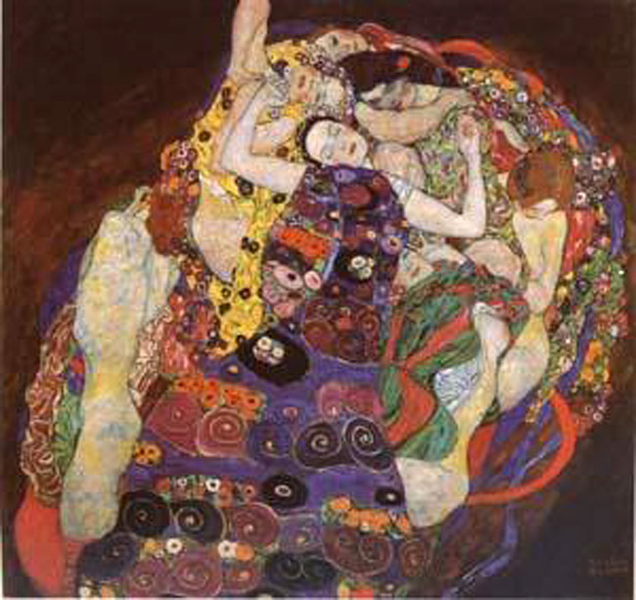 The Virgin,Gustav Virgin,Gustav Virgin,Gustav Klimt,50x50cm 9c05d2