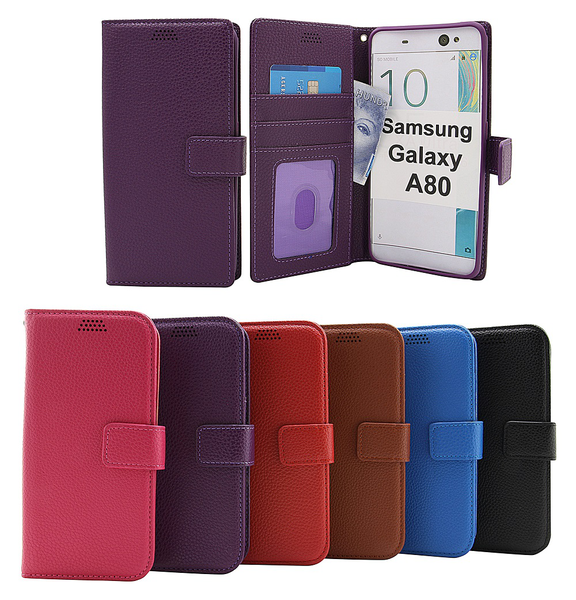 New standcase wallet samsung galaxy a80 (a805f/ds)