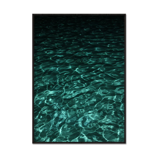 Poster A4 21x30cm Dark Water