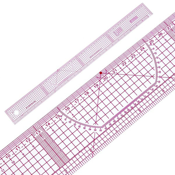 Sewing ruler shared double side metric straight ruler