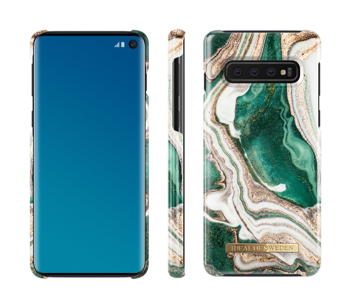 Ideal of sweden samsung galaxy s10 – golden jade marble