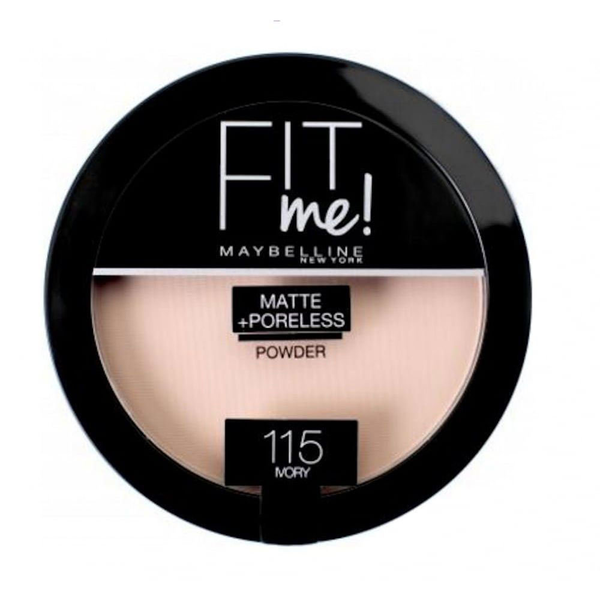 Maybelline fit me matte & poreless powder fair ivory 115