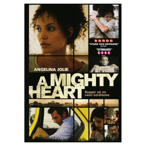 A mighty heart – dvd – thrillerdrama med angelina jolie