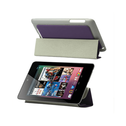 Techno (lila) google nexus 7 fodral