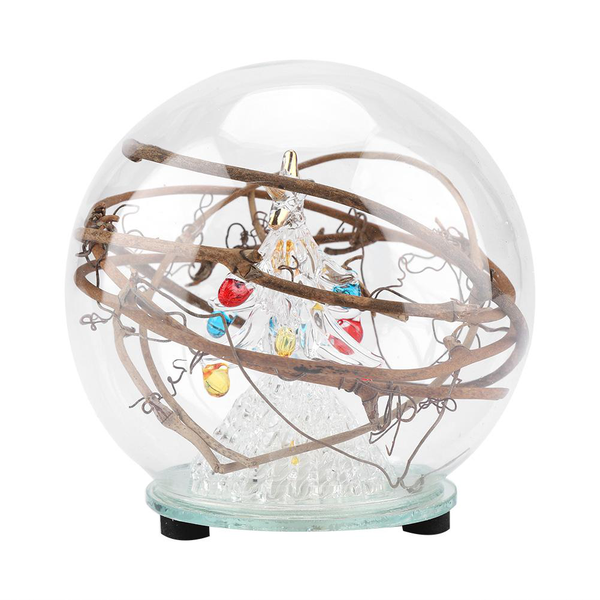 christmas tree ornament glass ball led lamp home office t