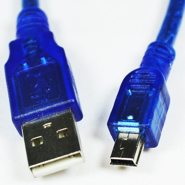 Usb 2.0 a male to mini b 5pin usb male converter data cable high