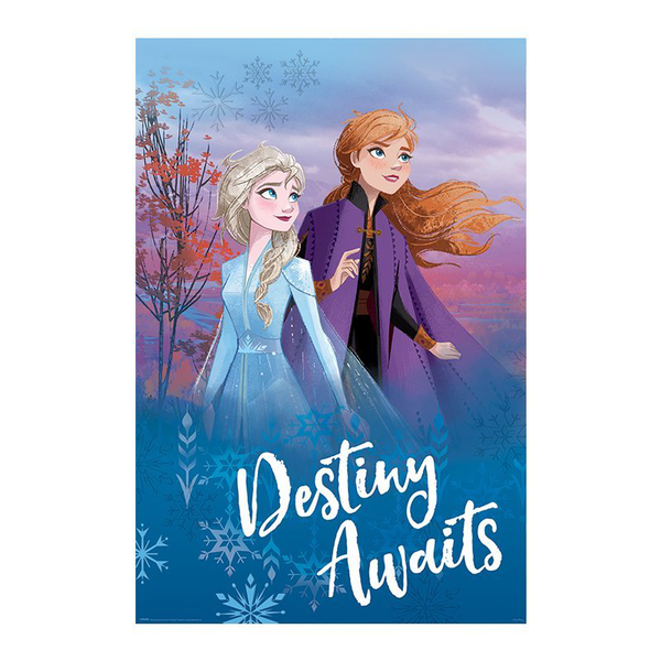 Frozen 2 / frost 2 maxi poster – destiny awaits
