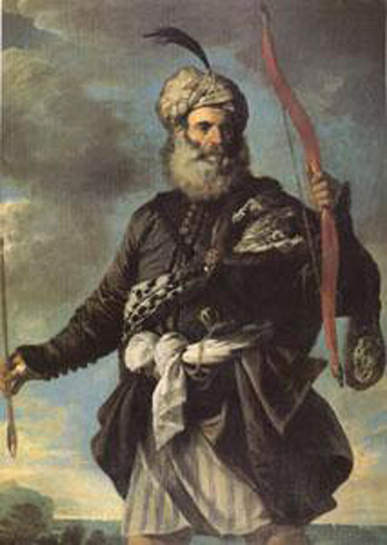 Barbary Barbary Barbary Pirate with a Bow,MOLA Pier Francesco,60x40cm c0c523
