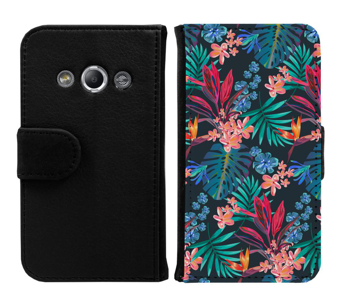 Samsung galaxy xcover 3 plånboksfodral jungle vibe