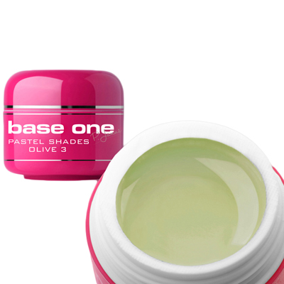 Base one – uv gel – pastel shades – olive – 03 – 5 gram