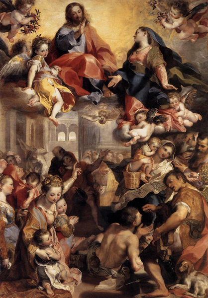 Madonna of the People,Federico People,Federico People,Federico Barocci,60x40cm cabbd5