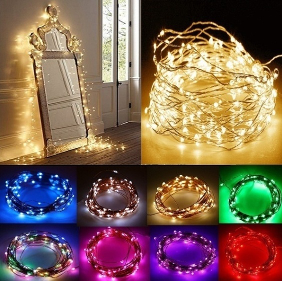 20led battery powered led copper wire fairy string light wa
