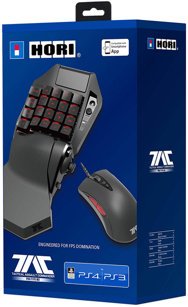 Hori playstation 4 tac pro m2 mouse and keyboard