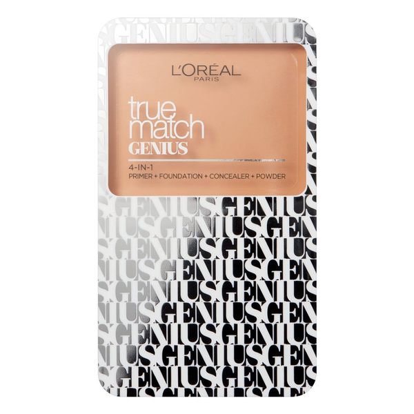 L'oreal true match genius 4in1 compact foundation 5 n sand 7g