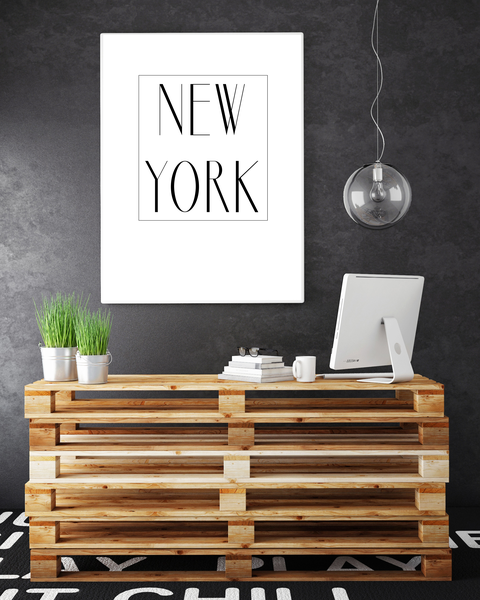 Poster - New New New York 1 A4 21x30cm 5b6309