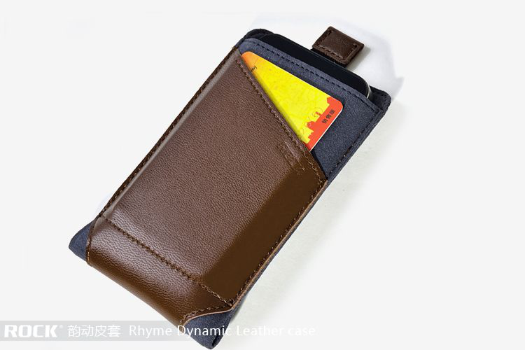 Rock dynamic pouch till iphone 4 / 4s / 3gs (coffee)