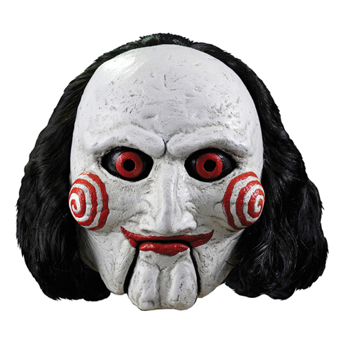 Saw puppet deluxe mask