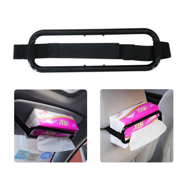Tissue box holder fashion paper napkin bracket for car visor