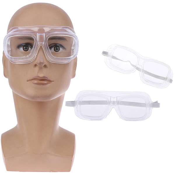 Clear vented safety goggles eye protection protective lab anti i