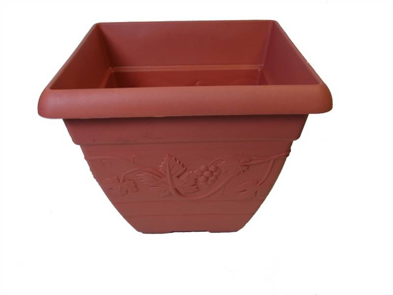 Vineyard Terracotta Terracotta Terracotta Square Planter 364540