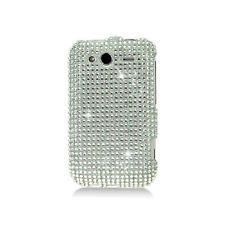Htc wildfire s skal strass silver
