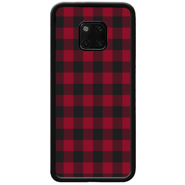 Huawei mate 20 pro mobilskal checkered flannel