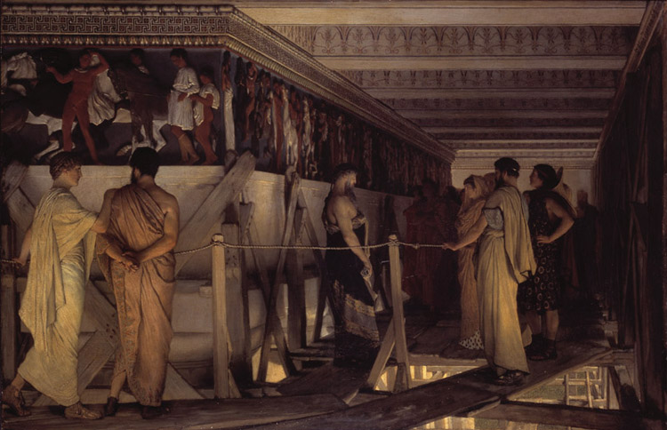 Phidias Showing the Frieze of,Alma-Tadema Sir Lawrence,60x40cm