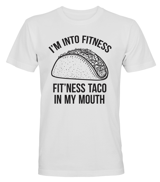 Fitness Taco In My Mouth - T-SHIRT - HERR