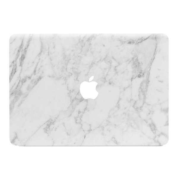 Macbook air 11 skin – white marble