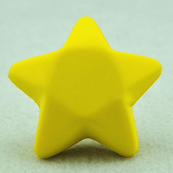 Five star shaped hand wrist exercise stress relief squeeze soft