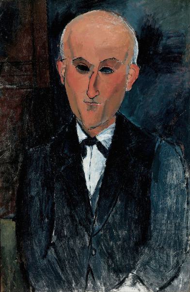 Portrait of Max jacob,Amedeo Modigliani,60x40cm