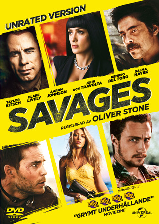 Savages -dvd