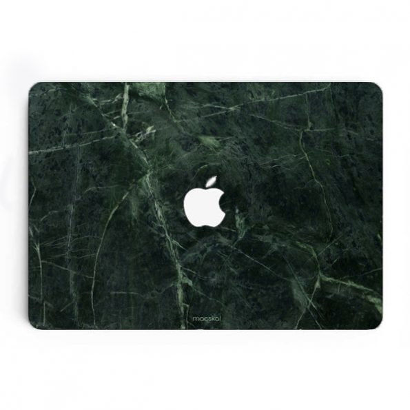 Macbook air 11″ skin – green marble
