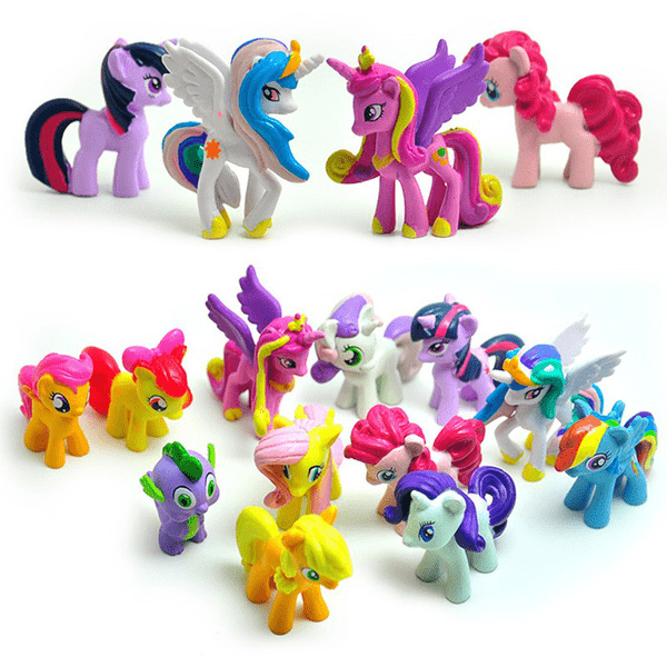 My Little Pony Figurer - 12 st